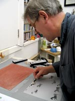 Graham Firth - drawing element of Lascaux Sketchbook